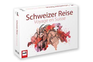 """1 x un jeu """"Voyage en Suisse"""" de Carlit"""