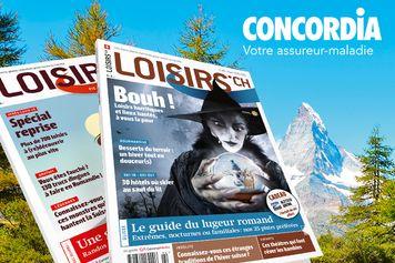 Remportez 100 x 1 magazine Loisirs.ch offert par notre partenaire CONCORDIA