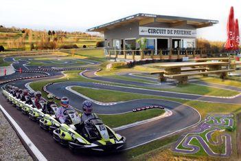 Pistes de karting indoor et outdoor à Payerneland