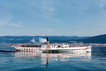 Croisières en bateau dans la région des Trois-Lacs