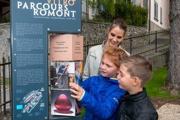 Découvrez en famille les secrets de la verrerie au cours d'une escapade amusante et ludique dans la magnifique ville de Romont !