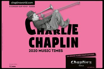 Du 13 juin au 30 septembre 2020, le musée veveysan célèbre la musique de Charlie Chaplin