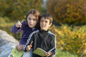 Balade didactique pour les familles à Bellelay