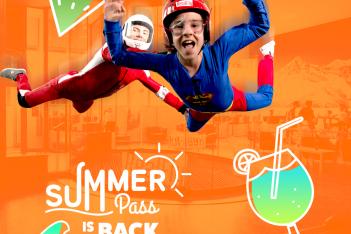 Dès le 6 juin, profitez du Summer Pass et de ses tarifs exceptionnels pour découvrir Realfly et son simulateur de chute libre. Sensations garanties !