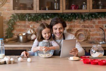 Du 3 février au 14 mars 2021, participez avec votre enfant à un atelier de cuisine depuis chez vous