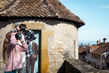 Découverte en famille de la ville de Neuchâtel