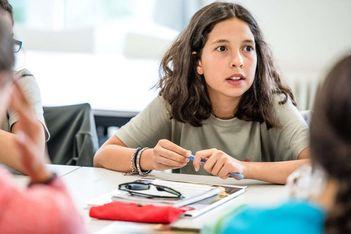 Du 5 au 30 juillet 2021, cours de français, d'allemand et d'anglais pour ados de 10 à 17 ans