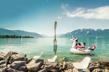 Plages, baignade et activités rafraîchissantes: offrez-vous un séjour exotique dans les lacs et rivières du canton de Vaud !