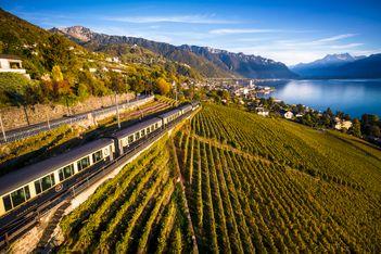 Voyages gourmands sur la ligne du MOB au départ de Montreux