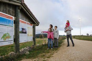 Itinéraire pour toute la famille de Mont-Soleil à Mont-Crosin