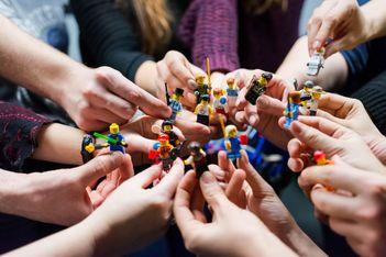 Du 25 octobre au 19 novembre, expositions et ateliers Lego