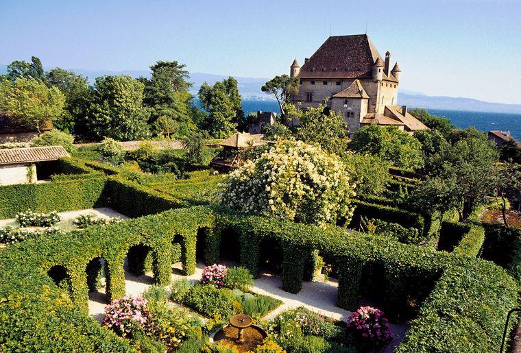 Le jardin des cinq sens france yvoire activit for Jardin remarquable ile de france