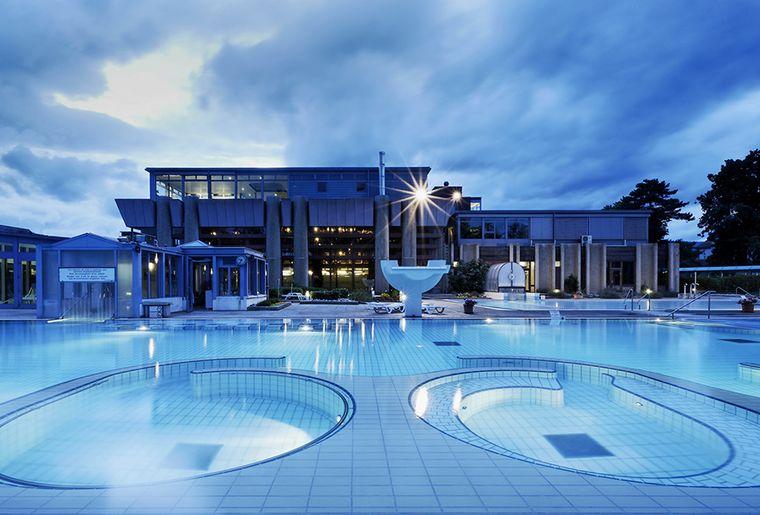 Bains thermaux en suisse romande activit for Hotel des bains saillon suisse