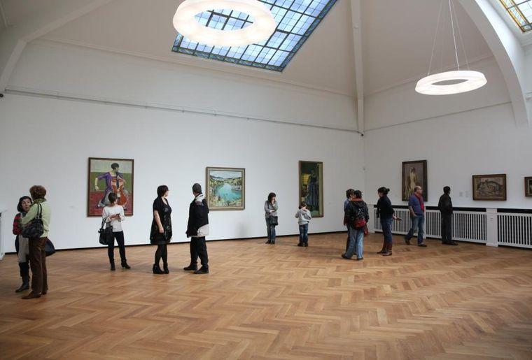 Salle d'exposition  Musée des beaux-arts Le Locle. ©Pierre Bohrer.JPG