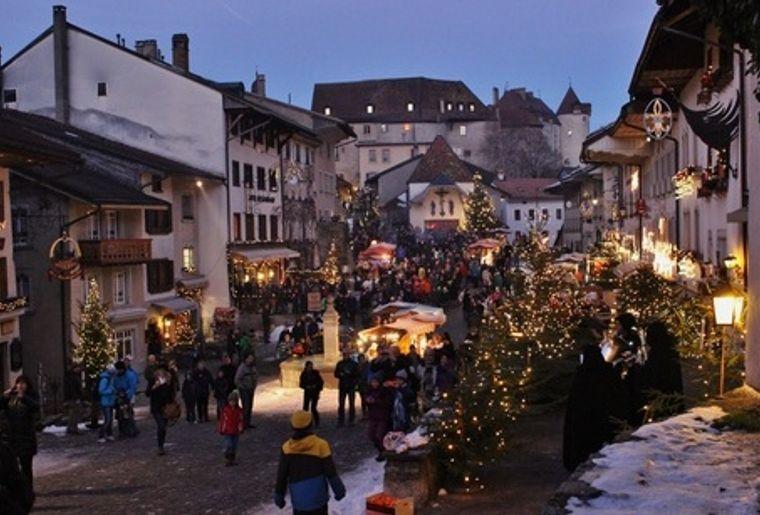 Les plus beaux march s de no l de suisse romande actualit s - Climatiseur le plus silencieux du marche ...