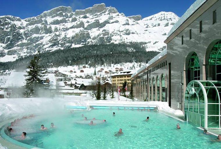 Top 10 des meilleurs bains thermaux de suisse romande for Hotel des bains saillon suisse