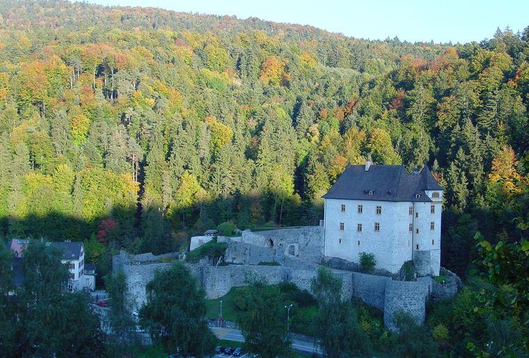 17 Le château complet avec le parking.JPG