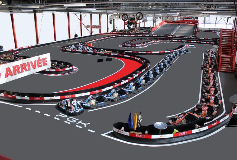 Karting payerne vaud payerne activit for Karting interieur