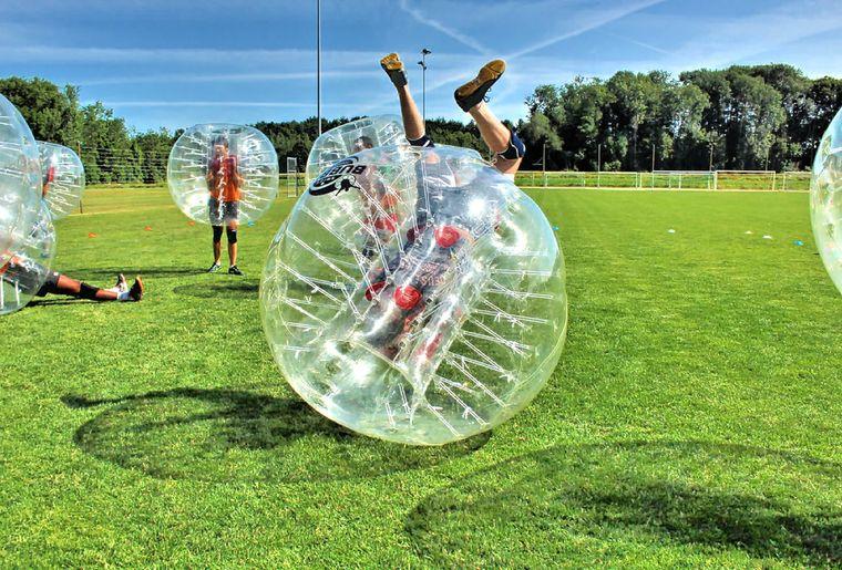 swiss bubble football - activit u00e9