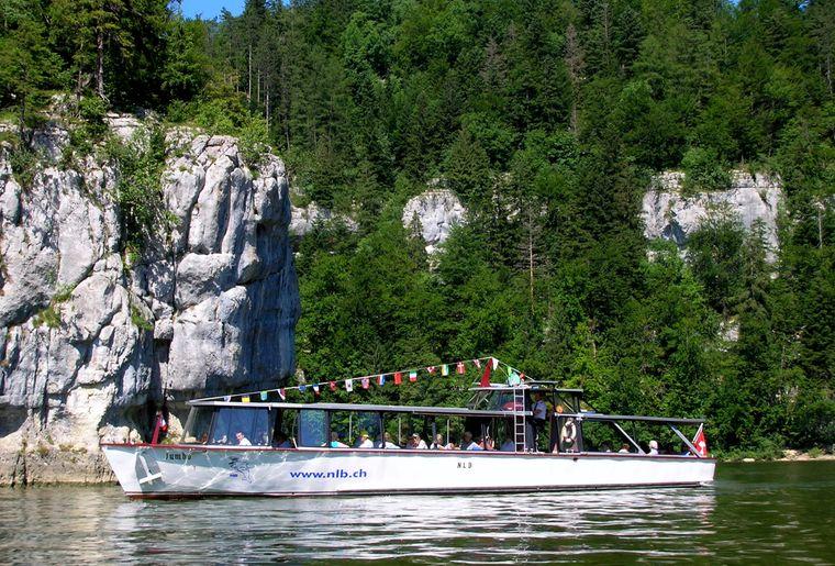 Navigation Lac des Brenets