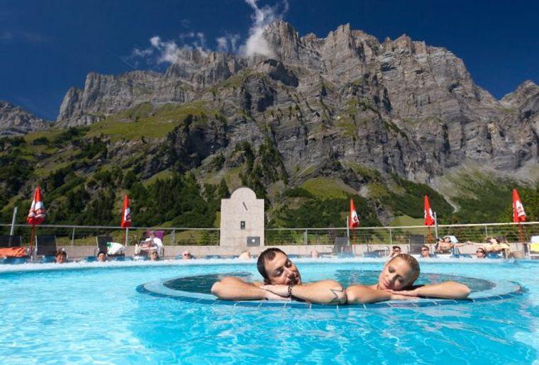 Bains thermaux en suisse romande activit for Hotel des bains saillon