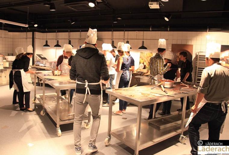 Chocoatelier activit for Atelier cuisine vevey