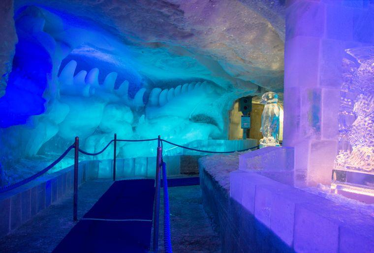 Pavillon de glace - Saas-Fee - Allalin - Saas-Fee - Activité