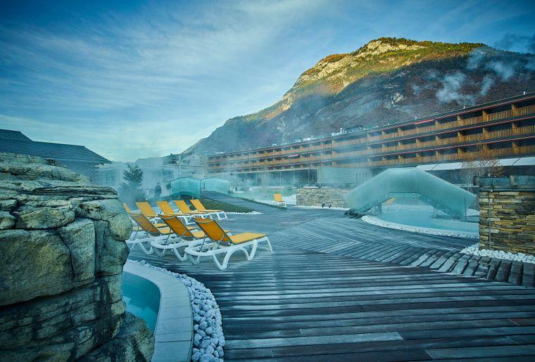 Bains de saillon valais activit for Hotel des bains saillon suisse
