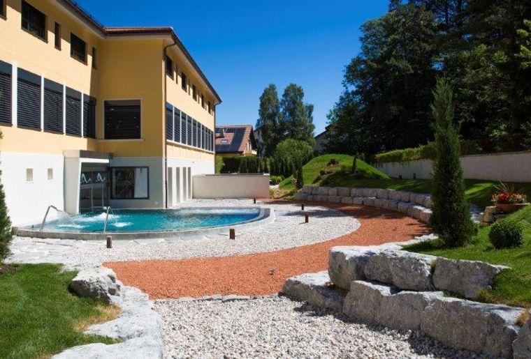 Piscine Fleurier Villa Florius