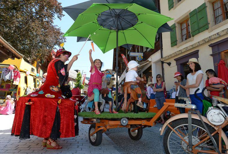 Festival au Pays des Enfants 2018 - Château-d'Oex