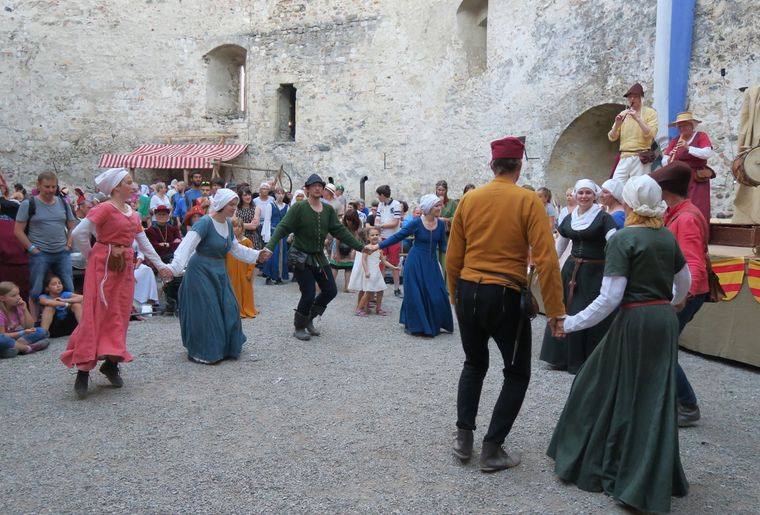 Fête médiévale au Château de Grandson