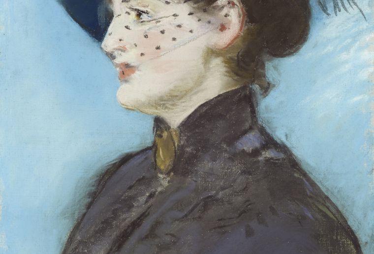 Edouard Manet, 1832-1883, La Viennoise Irma Brunner, pastel sur toile, 57x36 cm, collection particulière © Dominic Büttner, Zurich.jpg
