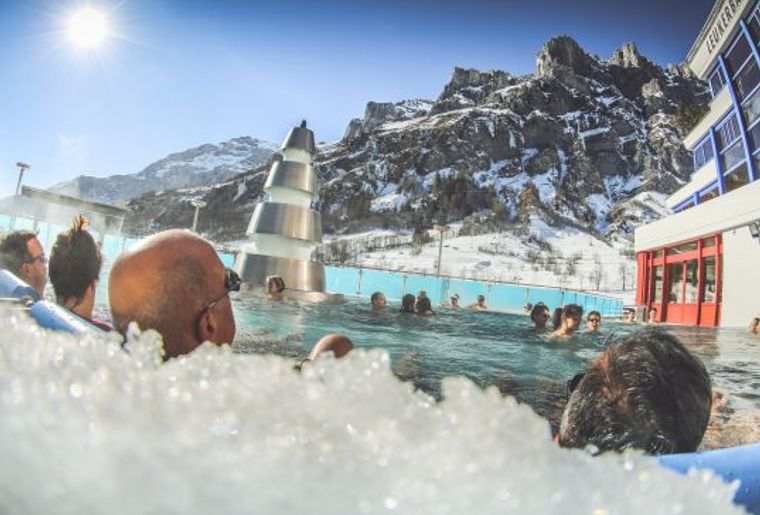 Ski et bains à moitié prix à Loèche-les-Bains