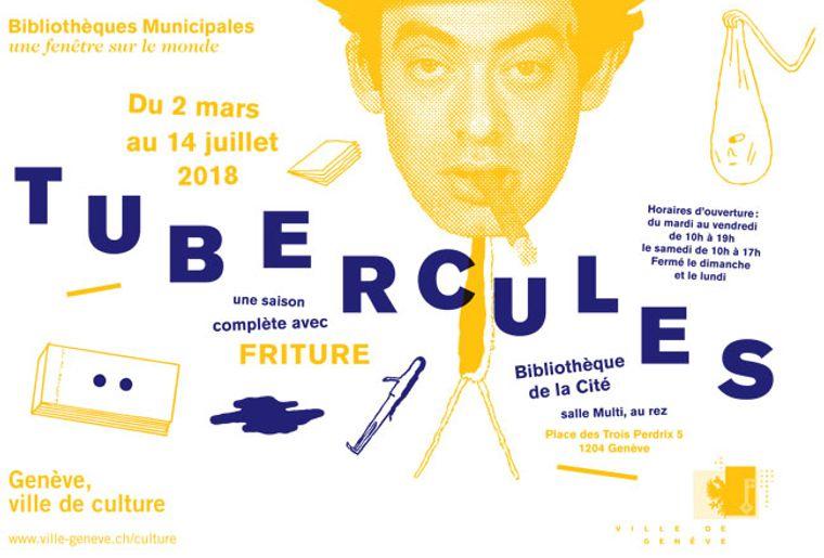 """Exposition """"Tubercules"""" de la Bibliothèque de la Cité - Genève"""