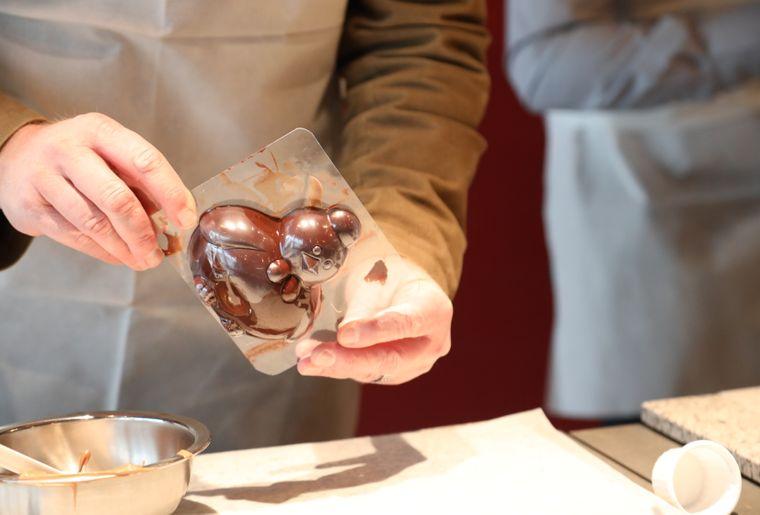 Atelier Choco'Pâques CHEZ Camille Bloch