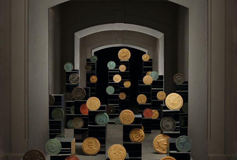 Objets du Musée monétaire, photo Régis Golay.jpg