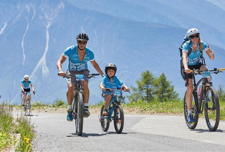 Cycling for Children - Crans-Montana