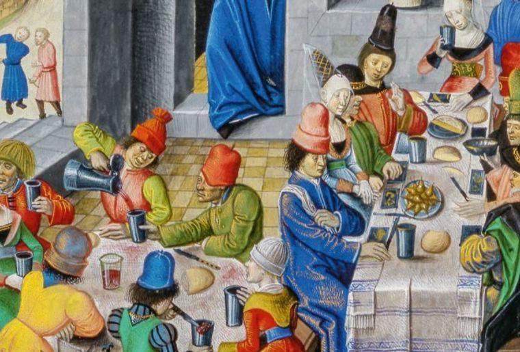 """""""L'Eau à la bouche. Boire et manger au Moyen Age"""" - Château de Chillon"""
