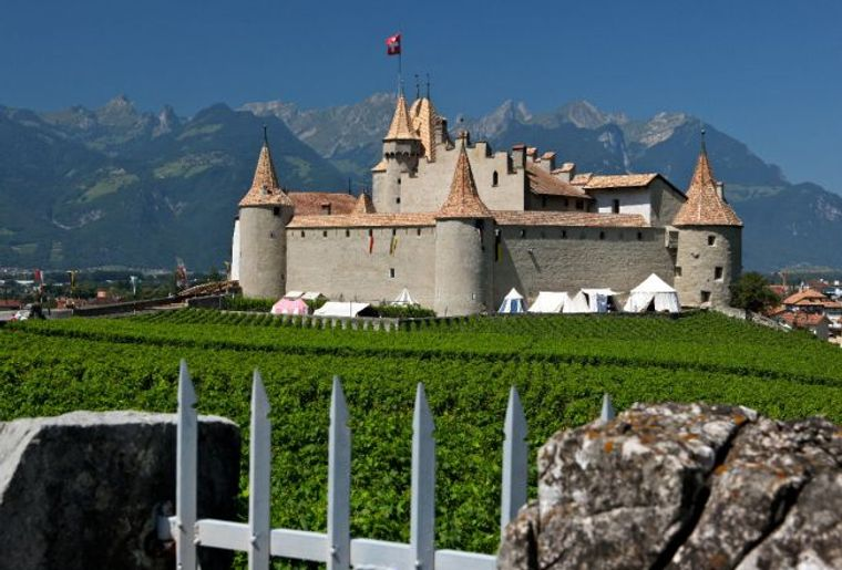 1er août au Château d'Aigle