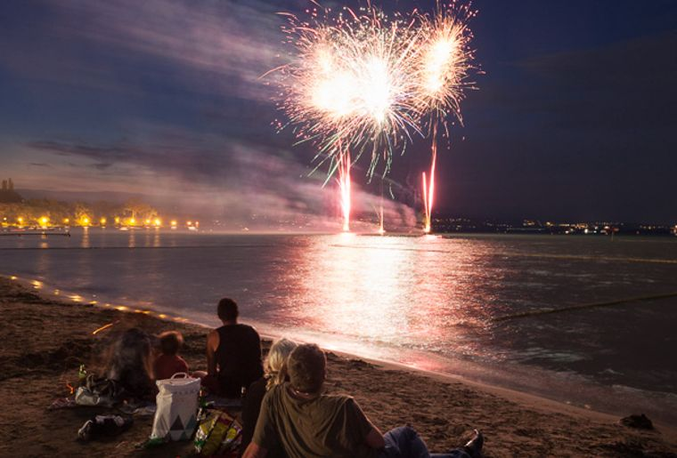 Feux d'artifice de Sciez et Thonon