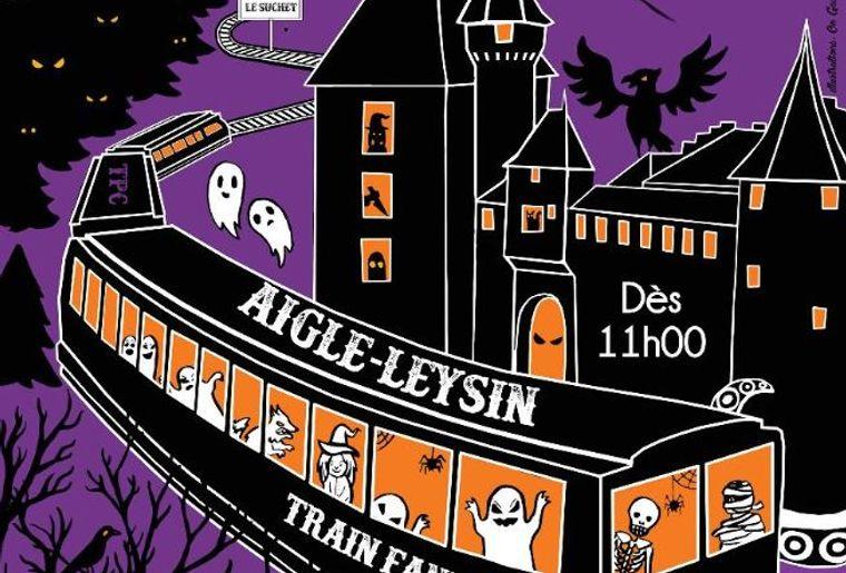 """""""Fais-moi PEUR !"""" et Train Fantôme au château d'Aigle"""