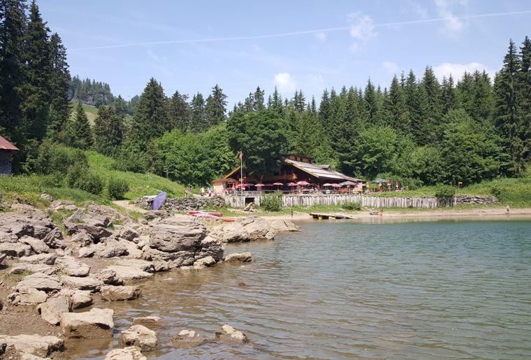 Plus belles terrasses de Suisse romande - Restaurant du lac des Chavonnes - Villars-sur-Ollon