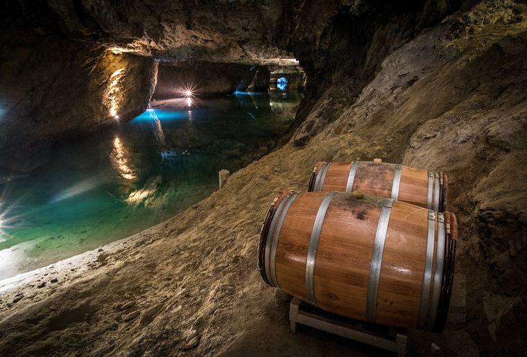 Lac souterrain St-Léonard