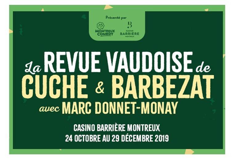 Revue vaudoise au Casino Barrière - Montreux