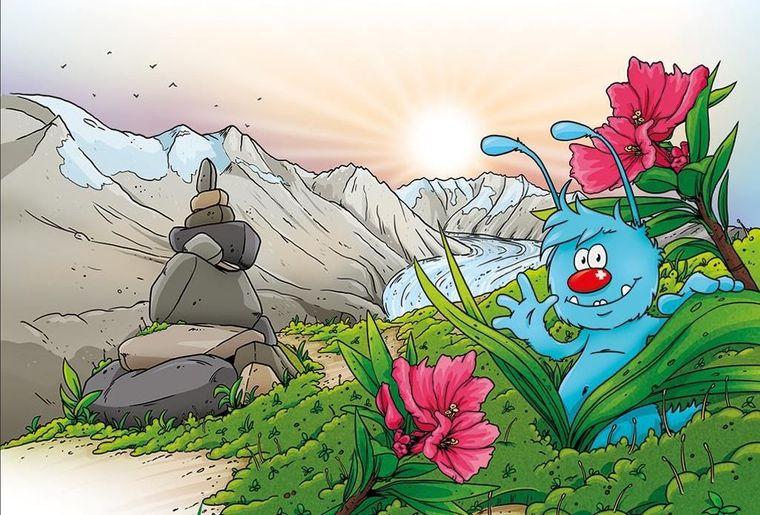 Animations pour enfants de l'Aletsch Arena