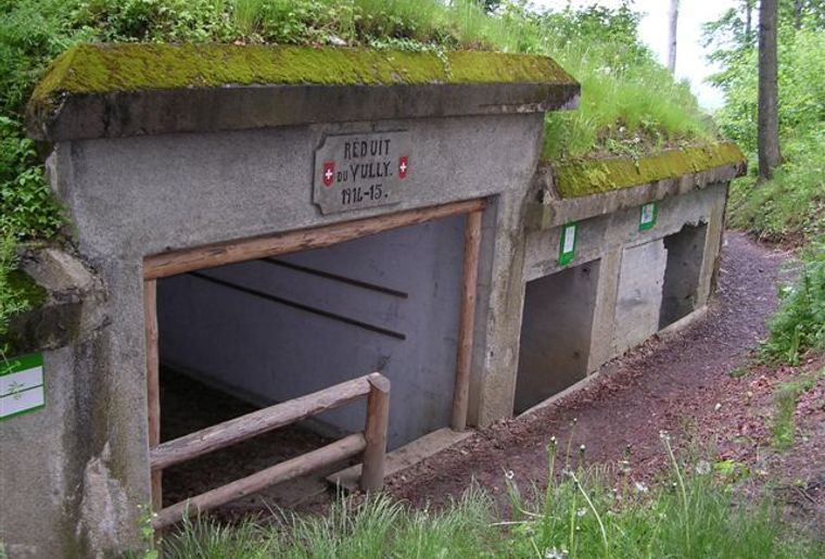 Fortification de la Première Guerre mondiale  © Region Murtensee.JPG