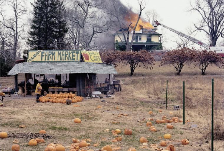 Joel Sternfeld, The Present Environmental Predicament, tiré de la série American Prospects, 1987.png