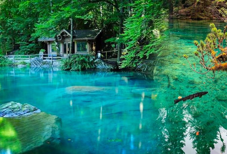 blausee-oberland-lac