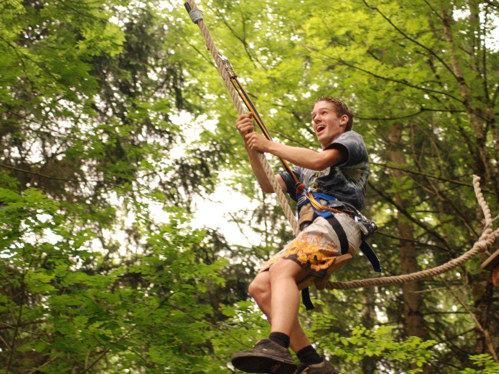 Aventure Jura Parc à Rebeuvelier, parc aventure, accrobranche, escape game