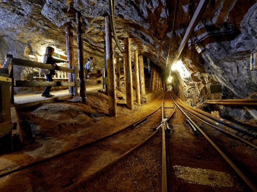 Mines de sel de Bex, un spectaculaire labyrinthe souterrain à découvrir en famille